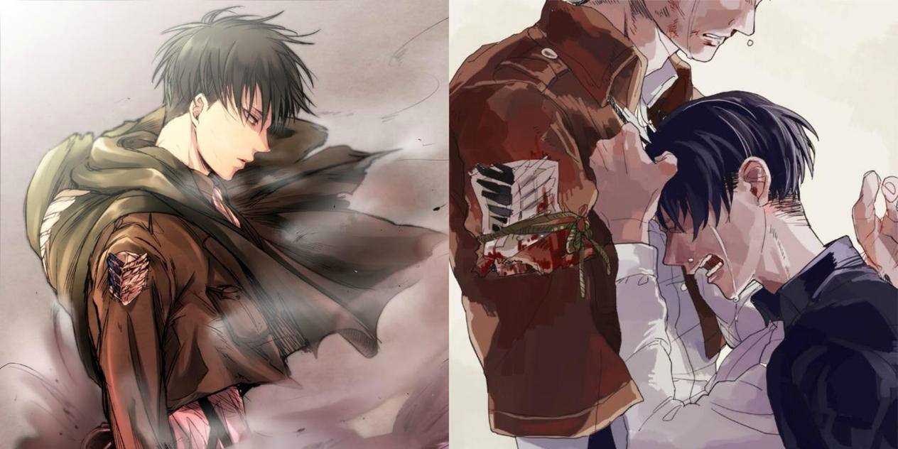 Levi x Male!Reader x Erwin (Sequel) by K-chann on DeviantArt