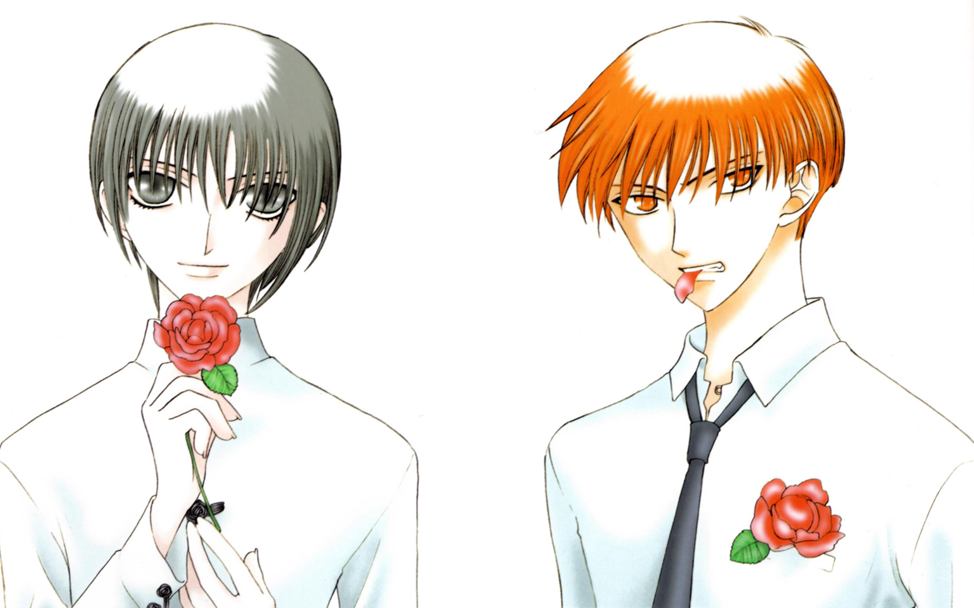 Fruits Basket Kyo And Yuki Fighting Fruits Basket on MaleR...