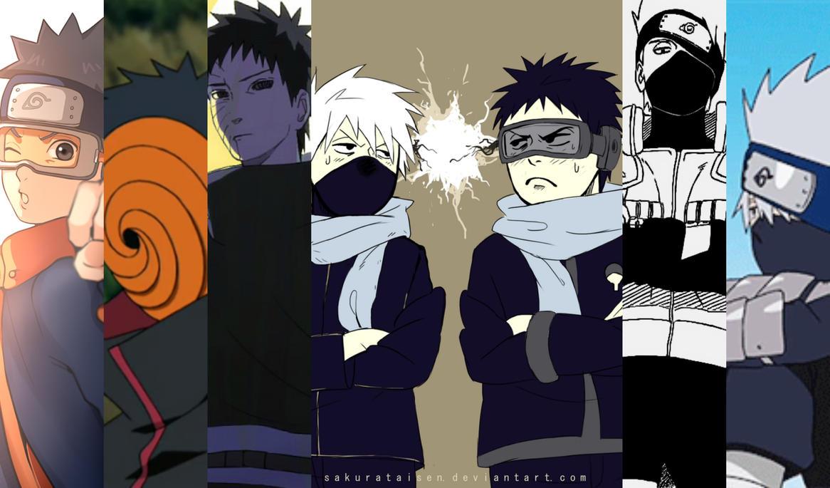 Uchiha Obito Mask Obito/Tobi x Blind!Mal...