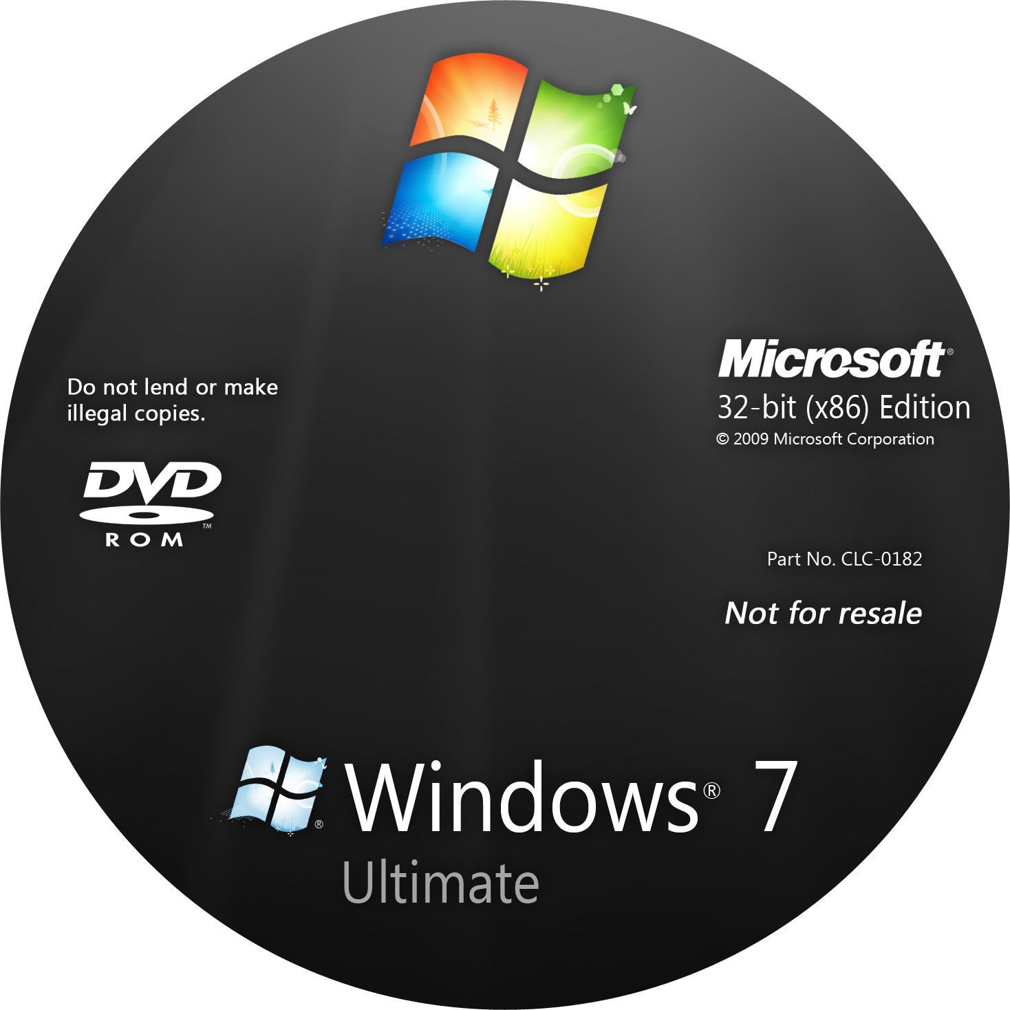 Windows 7 Обложку
