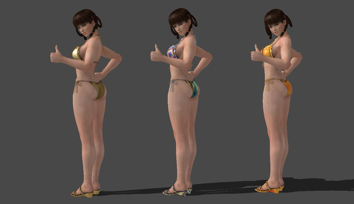Lei Fang bikini pack 2 ( download ) by jim4444
