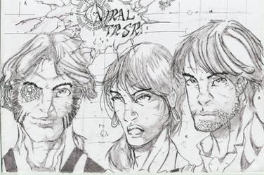 Viral TRSR :BnW comic book(pg.1-29) by Alf-Alpha