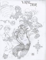 Viral TRSR :BnW comic book(pg.30-63) by Alf-Alpha