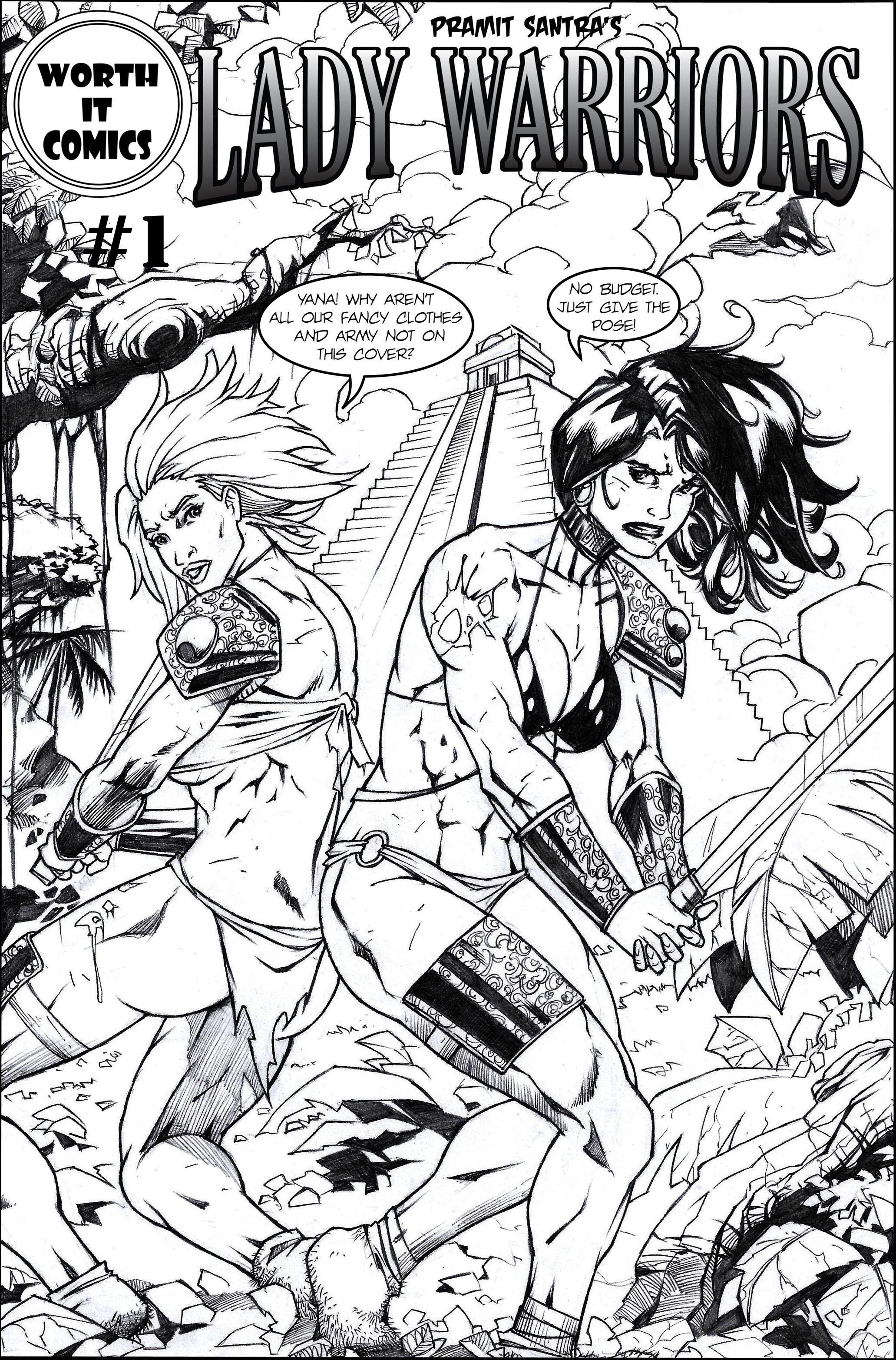 Lady Warriors #1-full pdf by Alf-Alpha