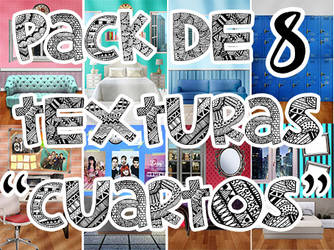 Pack de 8 texturas de cuartos para wattpad