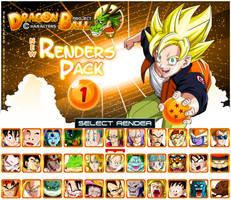 New Renders Pack 1 Characters