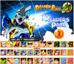 New Renders Pack 3 Characters by DBCProject