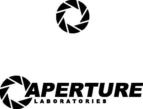 aperture science laboratories logo - vectortheqz on deviantart