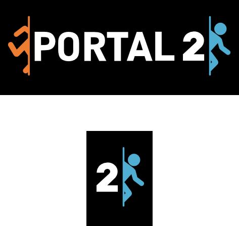 Portal 2 Logo Vector By Theqz On Deviantart