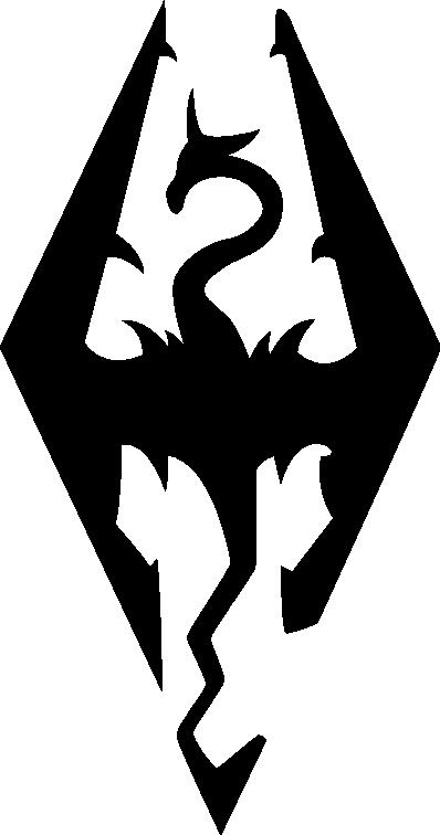 Skyrim Logo Vector By Theqz On Deviantart