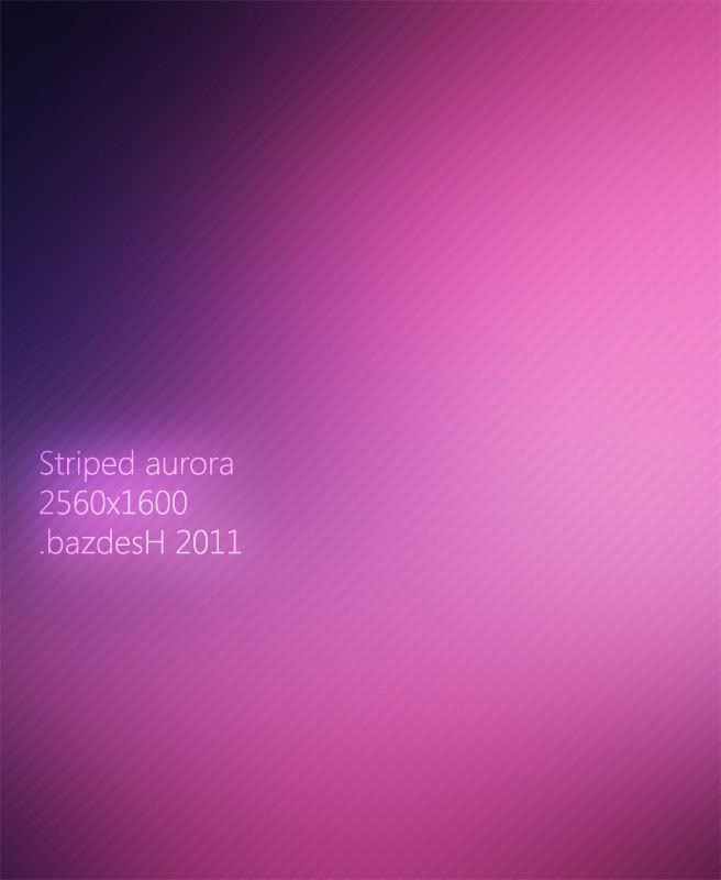 Striped Aurora by bazdesh