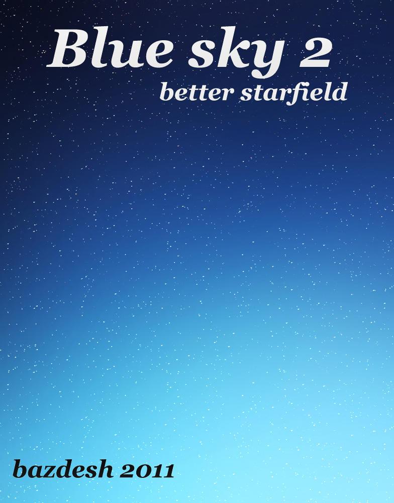 Blue sky 2 by bazdesh