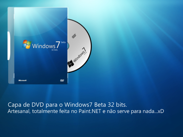 Capa p. o Windows7 Beta 32bits by ViXPta