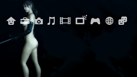 Quiet Nude Butterfly PS3 Theme by DEVILUSHNINJA