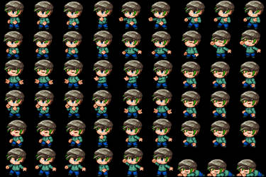 RPG Maker MV Custom Sprites - JackSepticeye by