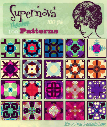 Supernova ps patterns by mae-b