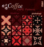 Coffee photoshop patterns
