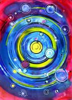 Space Circuit Doodle by jempavia