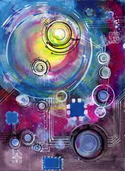Space Circuit Doodle II