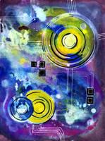 Space Circuit Doodle III by jempavia