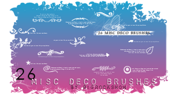 26 Misc Deco Brushes by big-rock-show