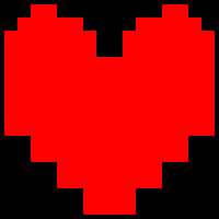 Undertale Heart Cursor by Agent-P1uto