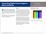 Color to Black and White PDF by freixas