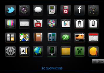 SQ Glow icons by iLLTeKK