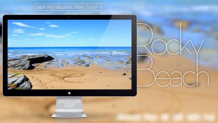 Rocky Beach - Wallpaper by GavinAsh