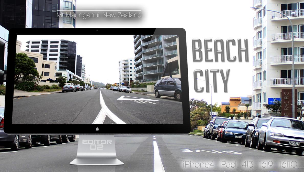 Beach City - Wallpaper by GavinAsh