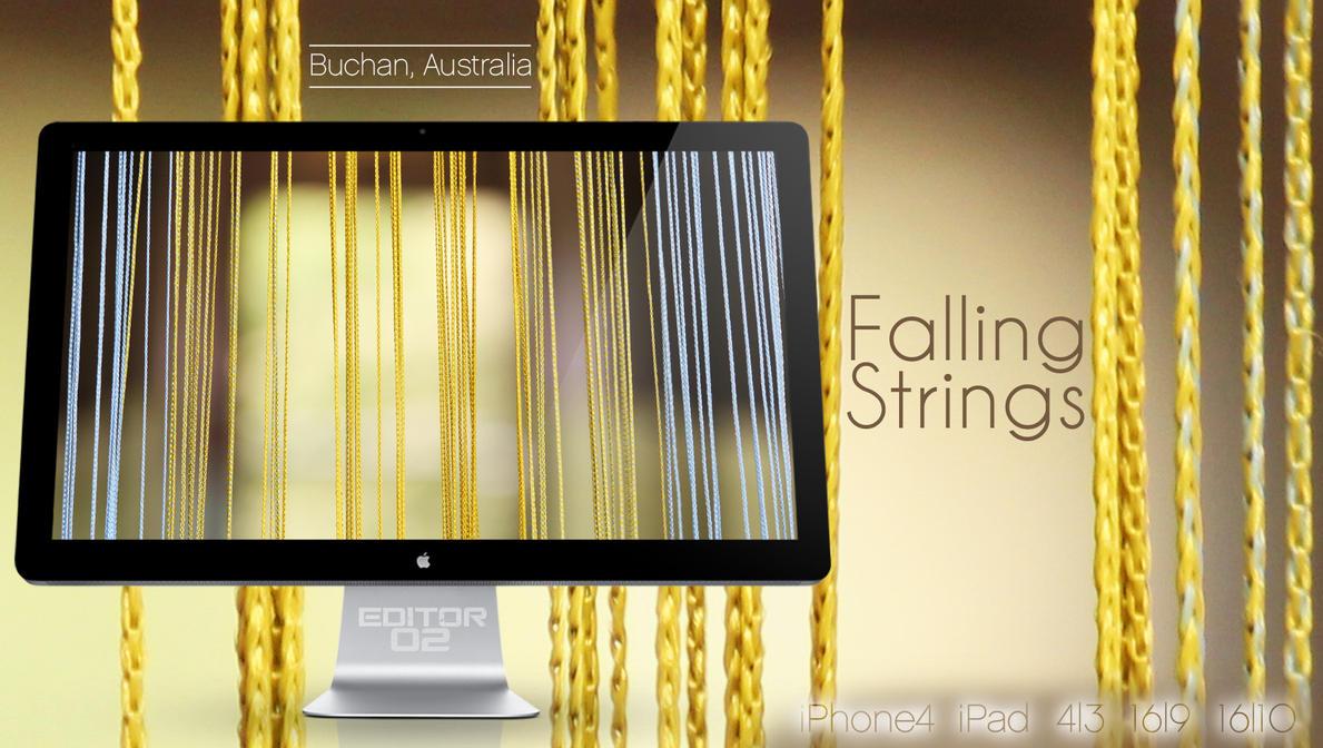 Falling Strings - Wallpaper by GavinAsh
