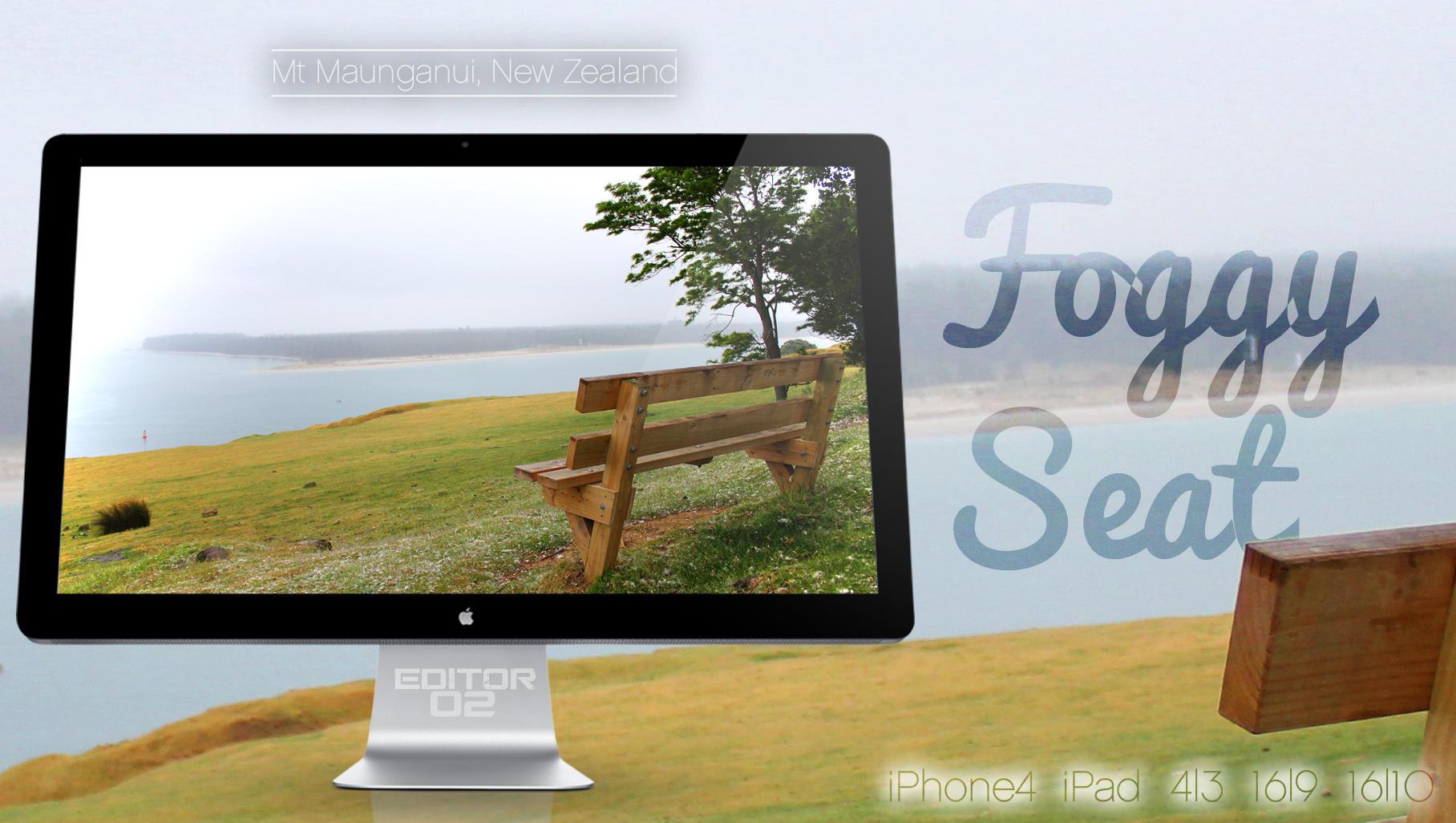 Foggy Seat - Wallpaper by GavinAsh