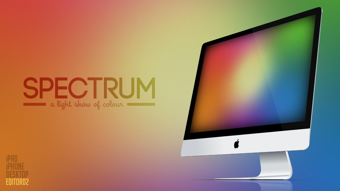 Spectrum - Wallpaper by GavinAsh