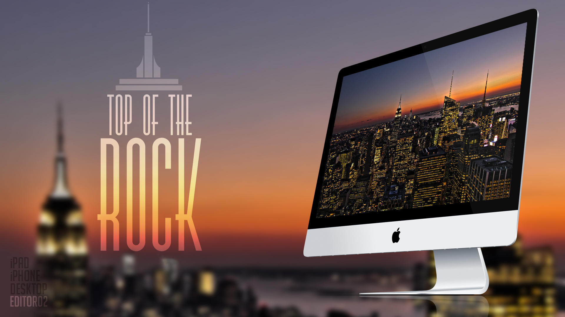 Top of the Rock - Wallpaper by GavinAsh