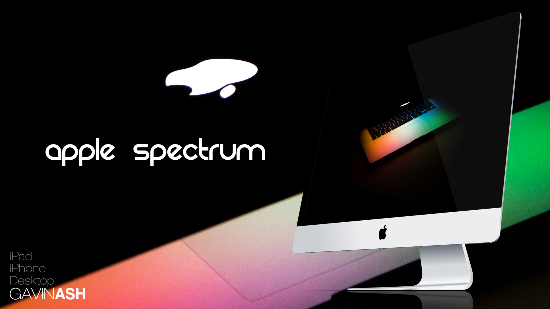 Apple Spectrum - Wallpaper by GavinAsh