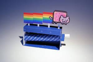 Nyan Cat Machine - Papercraft