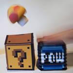 POW-Block Papercraft Preview