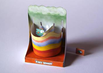 Tiny Wings Machine - Papercraft