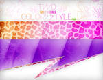 Two DailyV Colors Styles . PSD