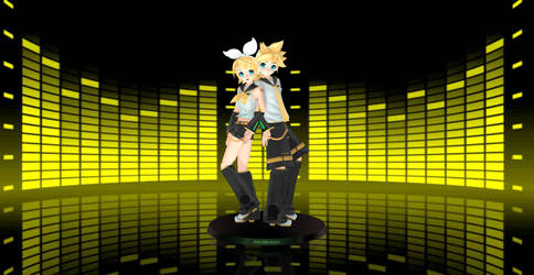 MMD - Rin and Len Pose DOWNLOAD by Vocalizer