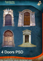 4 Doors PSD Pack by Pathfinder-Stock