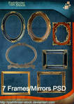 7 Frames and Mirrors PSD Pack
