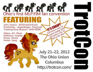 TrotCon 2012 Quarter-Page Flyer by TrotCon