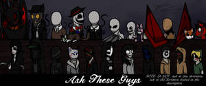 Updated Ask These Guys picture (Do not ask here) by Jinbeizamezama