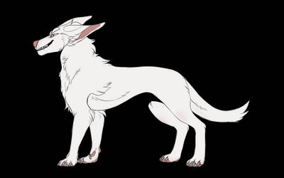 f2u canine lineart 2 by sovth