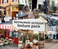 RESTAURANT OUTDOOR texture pack by mikaelsonx