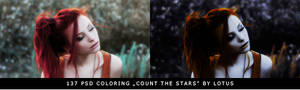PSD coloring Count The Stars by Lotus