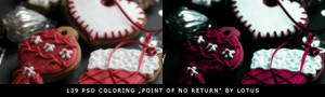 PSD coloring Point of No Return by Lotus