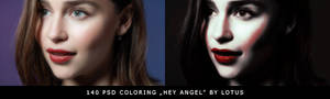 PSD coloring Hey Angel by Lotus