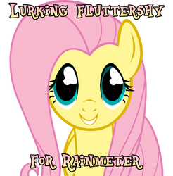 Lurking Fluttershy for Rainmeter